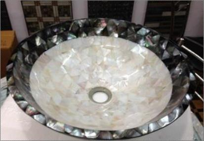 Semiprecious Stone Wash Basin