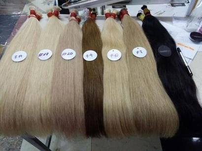 Ladies Double Drawn Hair Certifications: Iso 9001:2010