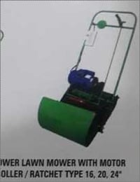 Power Lawn Mower with Motor Roller