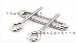 304/201 Stainless Steel Rigging Screw