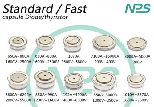 Standard And Fast (Capsule Diode, Thyristor)