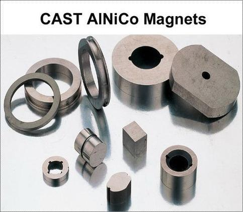 Cast Alnico Permanent Magnets For Higher Temperature Application