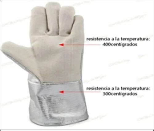 Heat Resistant Aluminum Gloves For Crematorium (1000 \\302\\260 C)