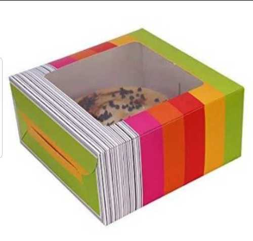Strong Printed Cake Box Size: Various