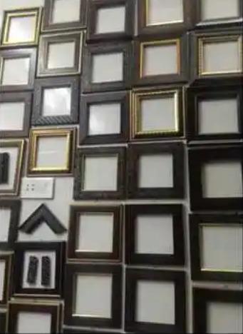 Yellow Acrylic Photo Square Shape Frame