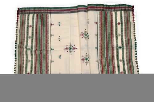 Woolen Winter Shawl With Kachchi Work