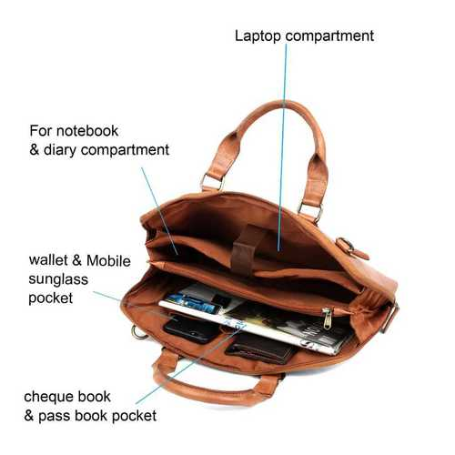 Fabbro Leather Laptop Bags