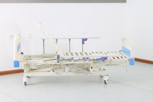 Electric Hospital Bed With 5 Functions