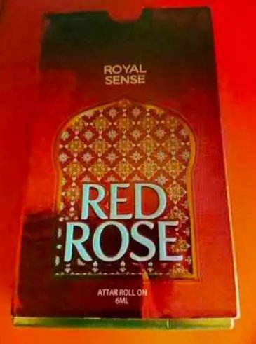 Red Rose Attar Roll 6 ML