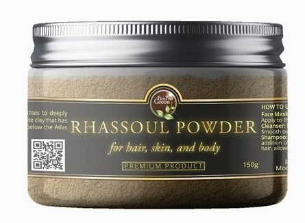 Moroccan Rhassoul Powder For Hair, Skin And Body