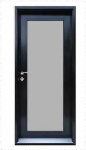 Black Glass Aluminum Doors