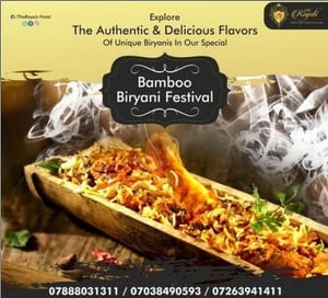 Food Catering Services (Bamboo Biryani Festival)