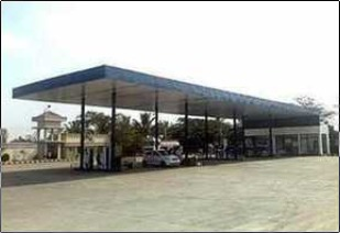 Petrol Pump Structure Fabrication