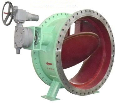 Three Bar Cut-Off Butterfly Valve