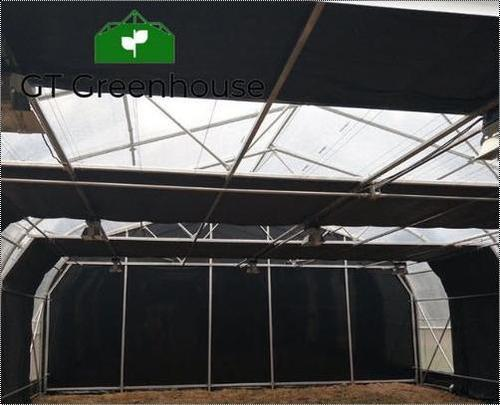 Black Out Plastic Greenhouse for Medicinal Herbs