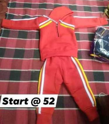 Kids Winter Track Suit