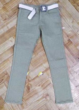 Plain Skinny Fit Kids Jeans
