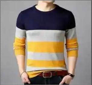 Mens Full Sleeves Woolen Sweatshirts