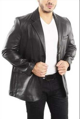 Mens Pure Leather Coat