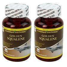 Woohoo Natural Golden Squalene 1000 Mg 100 Softgels