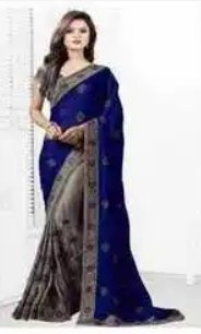 Easily Washable Ladies Designer Saree