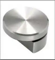 Round Brass Mirror Cap