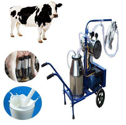 Blue Automatic Mobile Milking Machine