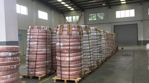 Copper Coated Bundy Tube Capacity: 100 Ton/Day