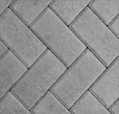 Grey Fine Finish Concrete Paver Block