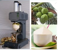 Green Young Fresh Coconut Trimming Machine