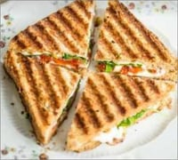 Fresh Cheese Grilled Sandwiches