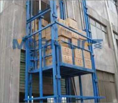 Fully Hydraulic Goods Lift