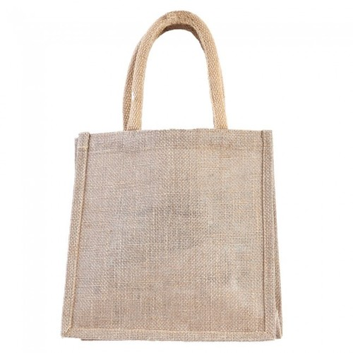 Loop Handle Jute Canvas Bags
