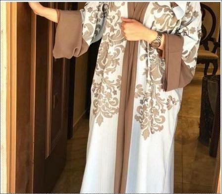 Skin Friendly Dubai Ladies Abaya