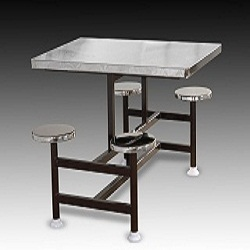 Stainless Steel Fixed Type Dining Table