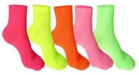 Multicolor Cotton Lycra Socks