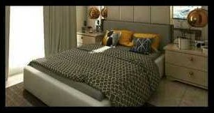 Modern Design Double Bed