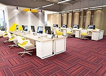 Nylon Carpet Tiles Customized For Offices