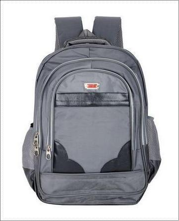 Surya Polyester 22 Liters Grey Laptop Backpack