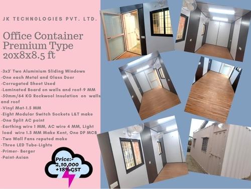 Office Container Premium Type 20x8x8.5 ft