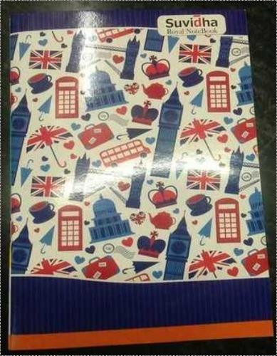 Rectangular Shape School Notebook, Paper GSM: 54-60 gsm