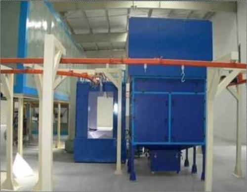 Semi Automatic Powder Coating Plant