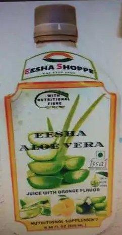Orange Flavor Aloe Vera Juice