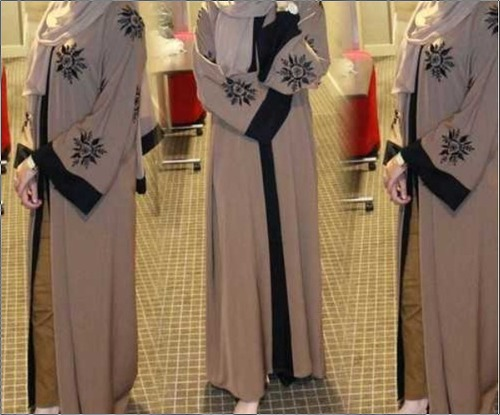Latest Designer Brown Dubai Abaya