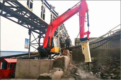 Fixed Type Pedestal Booms Hydraulic Rockbreaker Systems