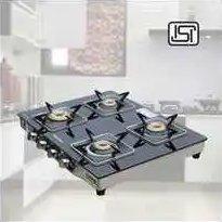 Stainless Steel 4 Burner Cook Top