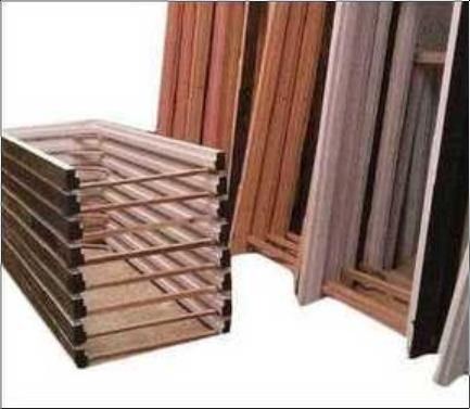 Fine Finishing Wooden Door Frames