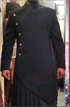 Mens Indowestern Ethnic Suit