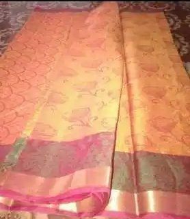 Easily Washable Polyester Sarees