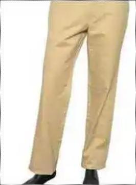 Mens Cotton Slim Fit Trouser
